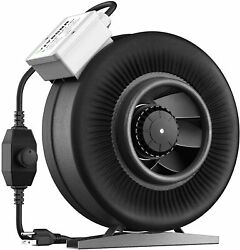 Vivosun 6 Inch 440 Cfm Inline Duct Ventilation Fan With Variable Speed Controlle