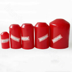 8 10 13 - 130mm Heat Shrink End Caps 21 Ratio Adhesive Glue Lined Cap Red 35kv