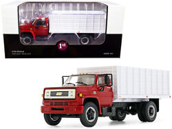 Chevrolet C65 Grain Truck Red And White 1/34 Diecast Model By First Gear