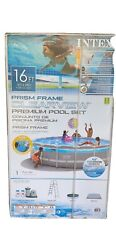 Intex Prism Clear View Pool 16x48 Can Meet