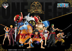 Pre-order Bandai One Piece Straw Hat Pirates Figure Set Import From Jp New
