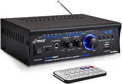 Bluetooth Mini Stereo Power Amplifier 2x120w Dual Channel Sound Audio Receiver