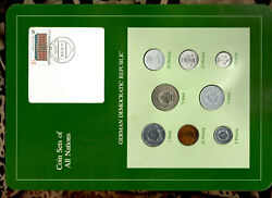 Coin Sets Of All Nations East Germany 1979-1981 Unc 5 Pf 1981 5 Mark 1981 32000