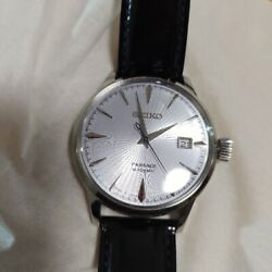 Seiko Presage Sary075 Analog Automatic Men's Watch Blue Dial Made In Japan
