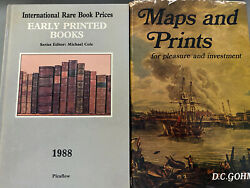 Maps And Prints D C Gohm 1969 Early Printed Books Prices 1988 Cole