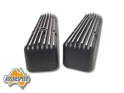 Aussiespeed Sbc Huge Finned Valve Covers Small Block Chevy 350 Hot Rod