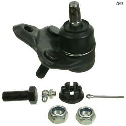 For Toyota Corolla Prius Celica Front Lower Set Of 2 Suspension Ball Joint