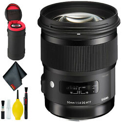 Sigma 150-600mm F/5-6.3 Dg Os Hsm Contemporary Lens For Canon Ef Deluxe Kit