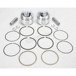 Wiseco High-performance Forged Piston Kit - 3.517 In. Bore/9.51 Ratio - K1625