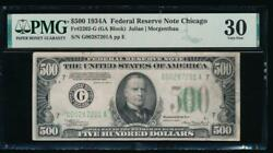 Ac 1934a 500 Five Hundred Dollar Bill Chicago Pmg 30 Comment