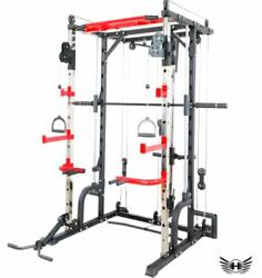 Commercial Fitness Multi Functional Strength Equipment Sports Smith Machine Rack