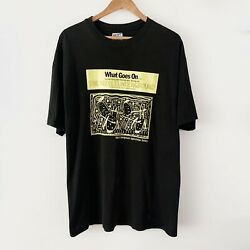 1992 Velvet Underground What Goes On Vintage Band Tour Shirt 90s 1990s Lou Reed