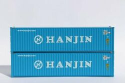 Jtc 405012 N Hanjin 40' High Cube Containers 2 Pk