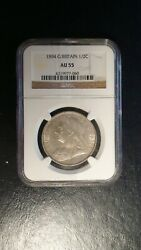 1894 Great Britain Half Crown Ngc Au55 Silver 1/2c Coin Priced To Sell Quickly
