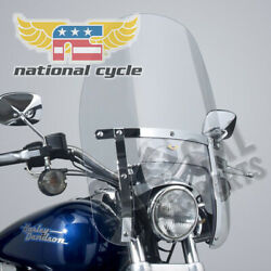 National Cycle 1983 Harley-davidson Fxdg Disc Glide Heavy Duty Windshield