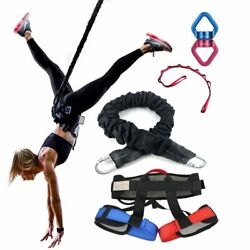 Bungee Dance Fitness Training Rope Gym Fly Suspension Band Aerial Yoga Aerobics
