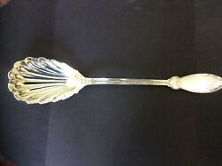 Rare And Co. John Polhamus Design 1855 Sterling Silver Stuffing Spoon