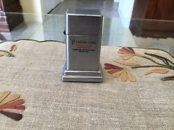 Vintage Zippo Barcroft Flesing Sons Table Lighter Excellent Used Condition.