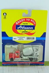 Athearn 28051 Kenworth Cement Mixer Truck Concrete Ready Mix 187 Scale Ho
