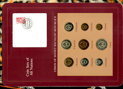 Coin Sets Of All Nations Ussr Russia 1976-1979 201531 Kopeck 1976 Unc