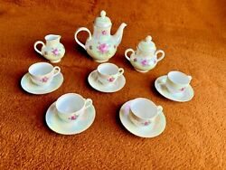 Colditz Vintage Tea Coffee Breakfast China Set Made In Germany 15 Piece
