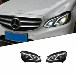 For Benz E-class 2015 Led Daytime Running Lights Dynamic Signal Xenon Lo/hi Beam