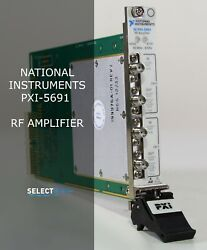 National Instruments Ni Pxi-5691 8 Ghz 2 Ch. Rf Amplifier Look Ref. 039g