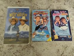 Vintage Mary Kate And Ashley Olsen VHS Lot 3 How The West Was Fun $20.00
