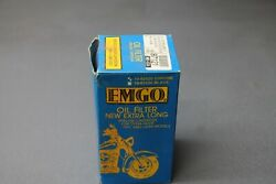Oem Nos Emgo 91-up Harley Dyna-glide Oil Filter 87121 In Stock Ships Today