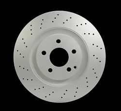 For Mercedes-benz S550 Cl600 S600 Cl550 S400 Front Set Of 2 Disc Brake Rotor