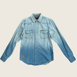 Indian Motorcycle Denim Shirt Size Small