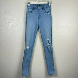 Abercrombie And Fitch Womenand039s Simone High Rise Super Skinny Jeans Blue Sz 4r