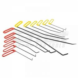 Hood Rods Set 12 Pieces Tools For Pdr Paintless Dent Repair Auto Body