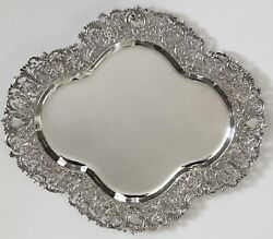 1892 Large Dominic And Haff Sterling Silver Labors Of Cupid Putti Serving Tray