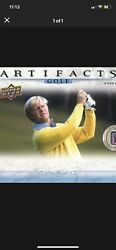 2021 Upper Deck Artifacts Golf Hobby Box - Sold Out Everywhere I. Hand