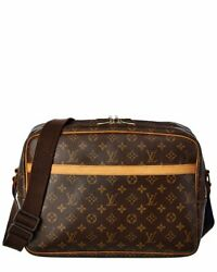 Louis Vuitton Monogram Canvas Reporter Gm Womenand039s