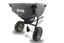 Broadcast Tow-behind Spreader Tractor 85 Lb. For Home Garden Heavy Duty Steel