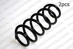 For Audi A6 Quattro Front Set Of 2 Coil Spring Type 4b5 Lesjofors 4004255