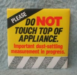 Please Do Not Touch Top Of Appliance Magnet Hallmark Humor Funny Mb25
