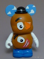 Mr Potato Head Picasso Variant Vinylmation 3 Toy Story Series 2 Pixar 4 Retired