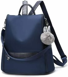 Backpack Purses For Women Backpack Purses PU Leather Anti theft Rucksack $33.30