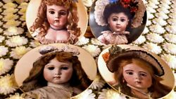 French Dolls 11bruand039s Beand039 Beand039 Faith Marqueand039s Alyce And Alexander Doll Plates