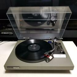 Technics Sl-26 Auto Return Record Player Vintage 1976 Working Tested And Cartridge