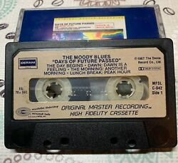 Mfsl C-042 Moody Blues Days Of Future Passed Cassette Good To Very Good Cond.