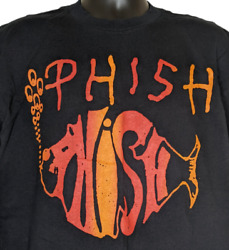 Phish Vintage 90s Tshirt Double Sided Single Stitch Made In Usa Size Xl