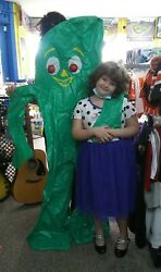 6 Foot Gumby Inflate And 18 Vintage Assorted Gumby Toys From 1980/90's