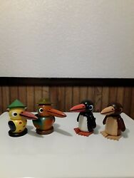 Ulbricht Nutcrackers- Complete Set Of 24 Signed Tour Birds Rare Opportunity