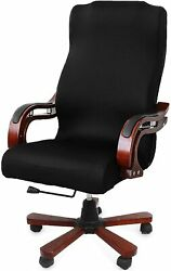 Caveen Office Chair Cover Computer Universal Boss Black