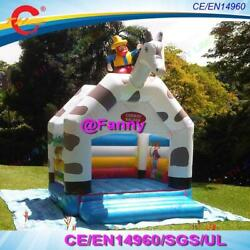 4x4m Cowboy Saloon Bouncer Inflatable Bounce House Bouncy Castle Bouncer For Kid