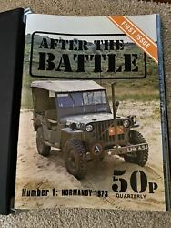 After The Battle Magazine Numbers 1 To 83 In Publishers Branded Binders